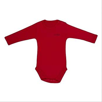 Bebepan Body Uzun Kol Kýrmýzý  24-30Ay