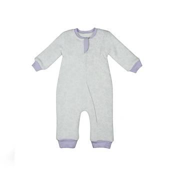 Baby Corner Uyku Tulumu Fermuarlý Capitoneli Lavanta 3-6 Ay
