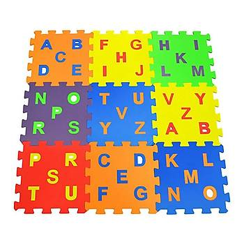 Eva Puzzle Oyun Matý Alfabe 7 mm 33X33 cm