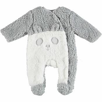 Bibaby Tulum Panda Gri  9-12 Ay