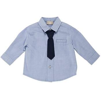 Chicco Gömlek Mavi  9 Ay