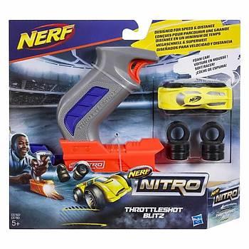 Nerf Nitro Throttleshot Blitz Sarý Araba