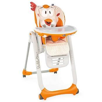 Chicco Polly 2 Start 4 Tekerlekli Mama Sandalyesi Fancy Chicken