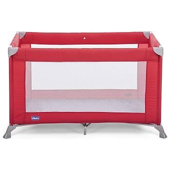 Chicco Goodnight Oyun Parký Park Yatak 60x120 cm Red Passion