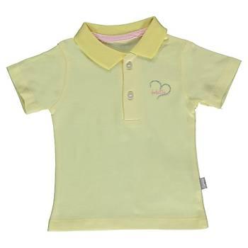 Bebetto T-Shirt Penye Polo Yaka Sarý  12-18Ay