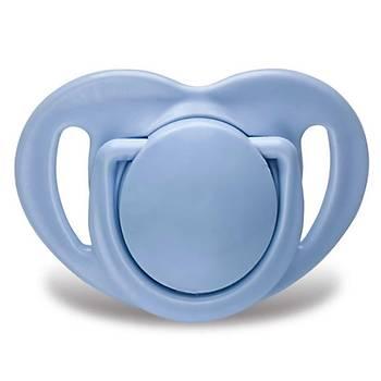 Mamajoo Ortodontik Silikon Emzik 2li 12+ Ay Fil Mavi