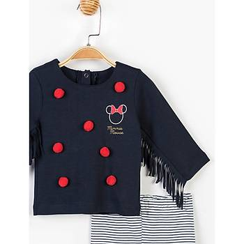 Minnie Mouse 2li Takým Lacivert  6-9 Ay