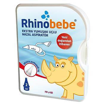 Rhinobebe Aspiratör 2 Yedek Uçlu