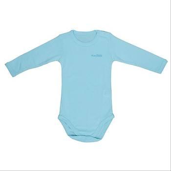 Bebepan Body Uzun Kol Mavi  12-18Ay