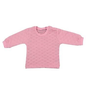 Mini Ropa Sweatshirt Kapitone Pembe  Pembe  12-18Ay