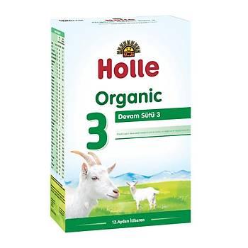 Holle 3 Organik Keçi Sütü Devam Formülü 400 Gr