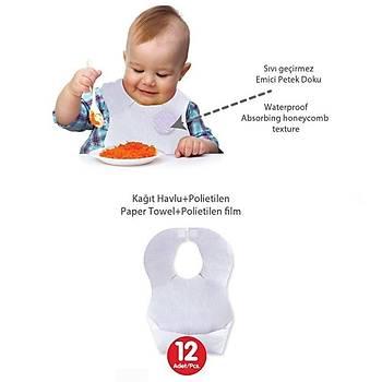 Sevi Bebe Kaðýt Mama Önlüðü 12li