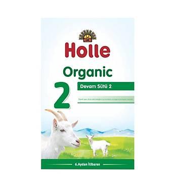 Holle 2 Organik Keçi Sütü Devam Formülü 400 Gr