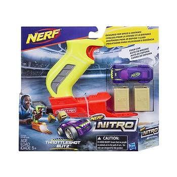 Nerf Nitro Throttleshot Blitz Mor Araba