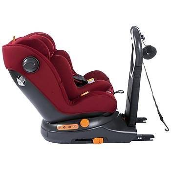 Chicco AroundU I-Size Isofix Oto Koltuðu 0-18 Kg Red Passion
