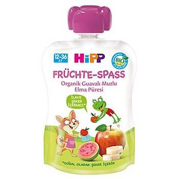 Hipp Organik Guavalý Muzlu Elma Püresi 90 gr