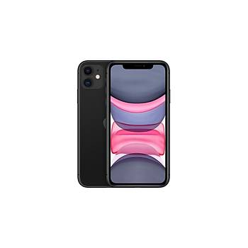 iPhone 11 64GB Siyah Cep Telefonu (Apple Türkiye Garantili) Aksesuarsýz Kutu