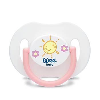 Wee Baby Damaklý Gündüz Silikon Emziði 6+ Ay