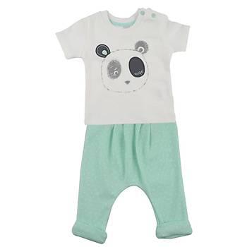 Baby Corner 2li Takým Þalvarlý Panda 9-12 Ay