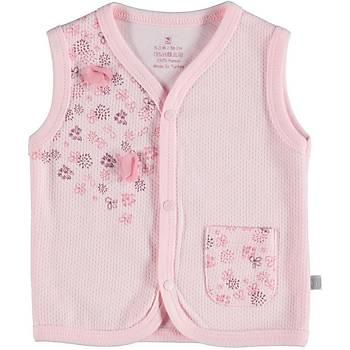 Bibaby Yelek Pink Clover Pembe  0-3 Ay