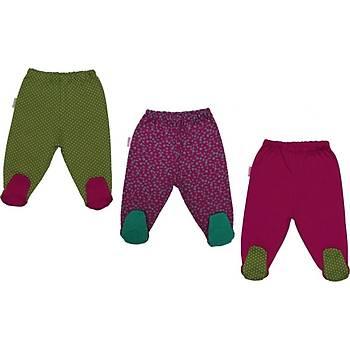 Bebepan Pantolon Patikli 3lü Colors Orjinal Orijinal 3-6 ay
