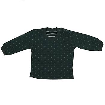 Mini Ropa Sweatshirt Kapitone Yeþil  12-18Ay