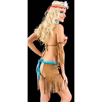 Erotik Apaçi Kadýn Kostümü