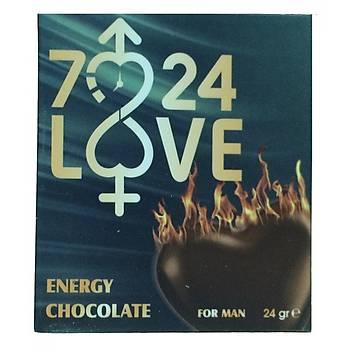 Kalpli Love For Men Çikolata
