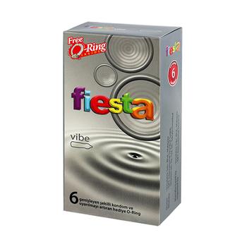 Fiesta Titreþimli Halka + Kondom Hediyeli