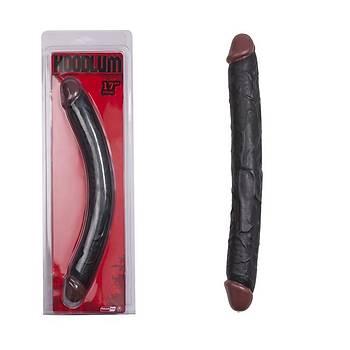 Zenci Double Çift Baþlý 43cm Uzun Penis