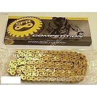 sfr zincir sfr marka oringli gold renk zincir kawasaki suzuki honda yamaha 520 525 530 120 bakla
