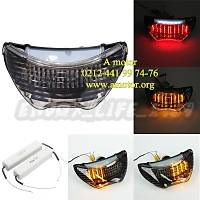 cbr 600f stop 600 f stop Stop Taillight Turn Signals LED Light Honda CBR 600 F4 900RR 99-00 F4i 04-06 Clear