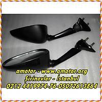 Yamaha R6 2008-16 Ayna Seti, Yzf R6 Ayna , Yzf R6 08-16 Ayna Set