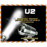 U2 3 fonksiyonlu sis farý gümüþ sis far takým fiyatý