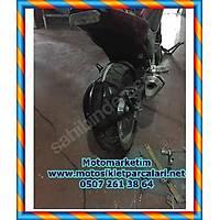 HONDA NC 750 X -S ARKA SIYIRICI CAMURLUK