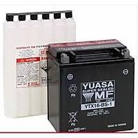 Yuasa (YTX16-BS-1) 12Volt 14Amper Akü (012V-0014Ah) ytx16-bs1 akü