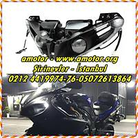 Yamaha Yzf R1 2012-14 Far, Yzf R1 12-14 Ön Far