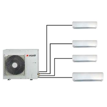 Arçelik Multi F 1+4 Inverter Sistem Klima