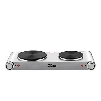 ZLN 0542 Zilan Set Üstü Elektrikli Ocak / Çiftli