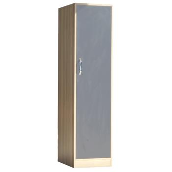 ELB101-1 Elbise Dolabý Tek Kapak 58x45x180