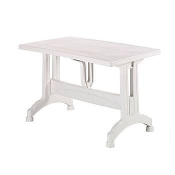 Delta Plastik Sabit Ayaklý Royal Masa Beyaz 70X120