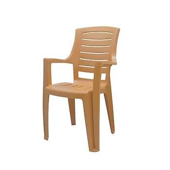 Yonca Plastik Kollu Sandalye Teak