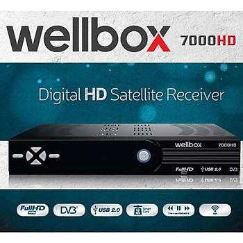 WELL7000HD WellBox HD Kasalý Uydu Alýcýsý