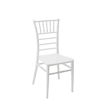Tiffany Düðün Sandalyesi Beyaz / Siyah