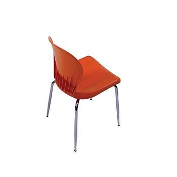 Mine Sandalye, Kolsuz Boyalý Ayak