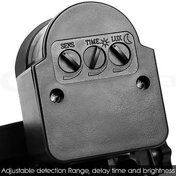 100LEDPIR Led Projektör Sensörlü Güneþ Panelli