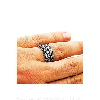 Gümüþ Örgülü El Ýþi 925 Ayar Gümüþ Alyans Söz Evlilik Çift Yüzükleri  Toptan ve Perakende Erkek Bay Bayan Yüzükleri