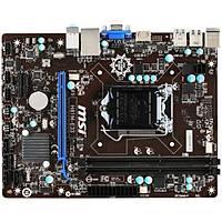 MSI H81M-E33 DDR3 1600MHz S+V+GL 1150p (mATX)