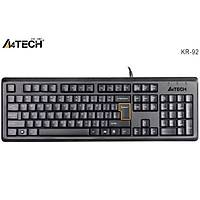 A4 Tech KR-92 Q USB Klavye MM Siyah