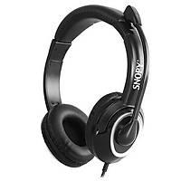 Snopy SN-X4 X-ZOOM Siyah PC-Telefon Mik. Kulaklýk